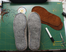 Load image into Gallery viewer, Real Leather sole