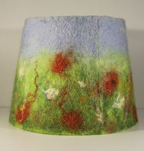 Load image into Gallery viewer, Felted Wool Lampshade