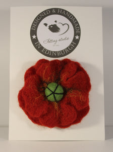 Felted Wool Brooche