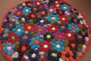 Felted Wool Carpet