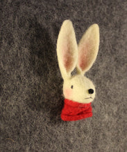 Load image into Gallery viewer, Rabbit brooch