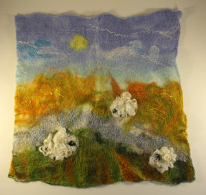 Felted Wool Picture