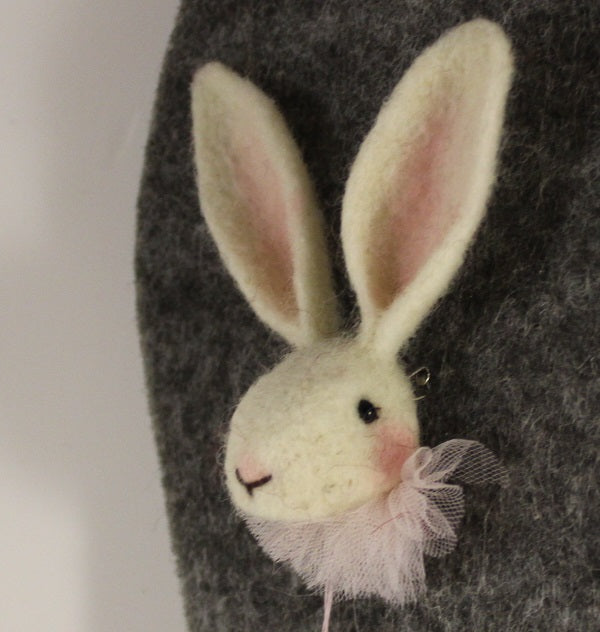 Rabbit Brooch