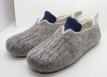 Load image into Gallery viewer, Handfelted Wool Slippers, Size: UK 7.5