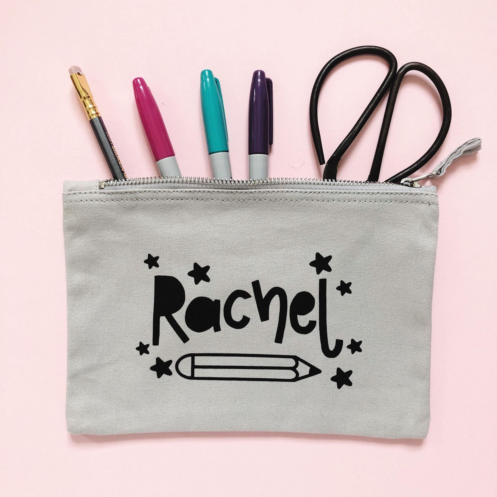 Personalised Pencil Pouch - Nurture and Cheer