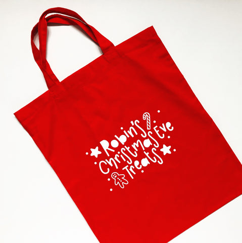 Christmas Eve Bag - Nurture and Cheer