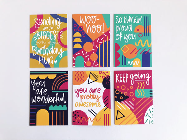 You Are Pretty Awesome Greetings Card - Nurture and Cheer