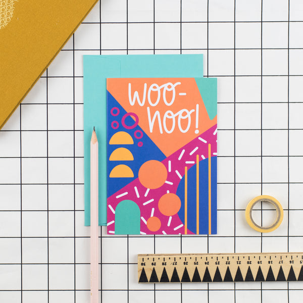 Woo Hoo! Greetings Card - Nurture and Cheer