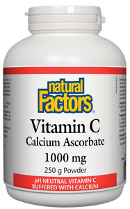Recommended for individuals who typically experience gastrointestinal symptoms when taking vitamin C, Natural Factors Vitamin C Calcium Ascorbate is buffered with calcium so it is gentle on the stomach. The easy-to-take crystals allow for it to be mixed into beverages and foods making it ideal for all ages.