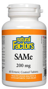 "SAMe (pronounced ""sammy"") is short for S-adenosyl-L-methionine or S-adenosyl-methionine, a natural molecule formed in the body by methionine and adenosyl-triphosphate (ATP). Supplemental SAMe helps to raise serotonin, dopamine, and phosphatidylserine levels."