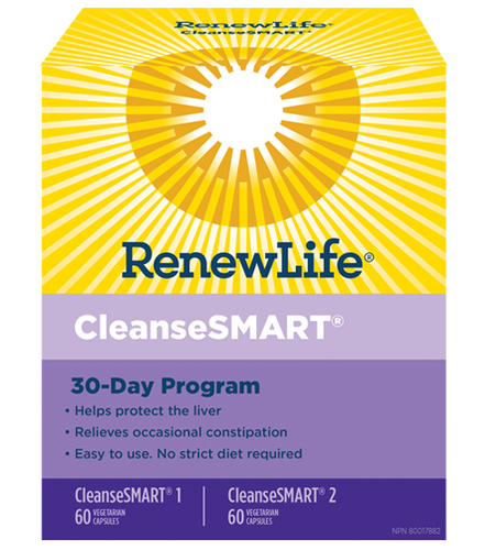 CleanseSMART® is full body cleanse, ideal for people who have cleansed before and want a stronger cleanse for occasional constipation.