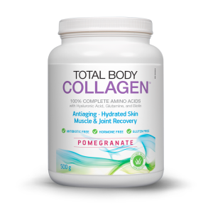 Natural Factors Total Body Collagen Pomegranate
