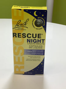 Bach Flower Essence Rescue Night
