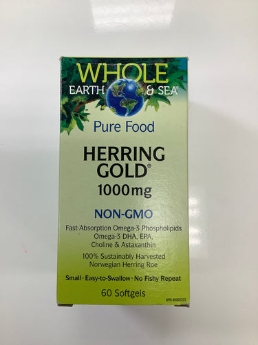 Whole Earth and Sea Herring Gold 1000mg