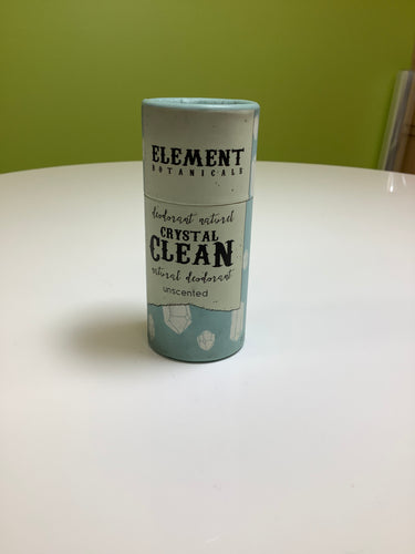 Element Botanicals Crystal Clean Unscented Deodorant