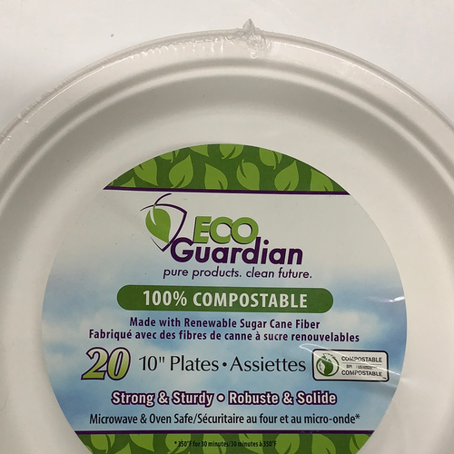 Eco Guardian Compostable Plates
