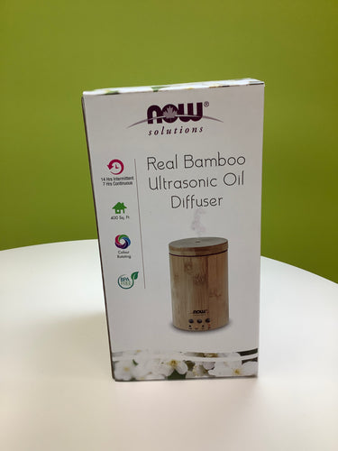 Real Bamboo Ultrasonic Essential Oil Diffuser