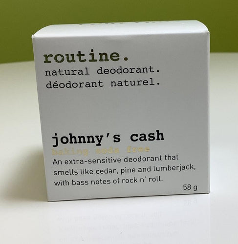 Routine Johnny's Cash Natural Deodorant-Baking Soda Free