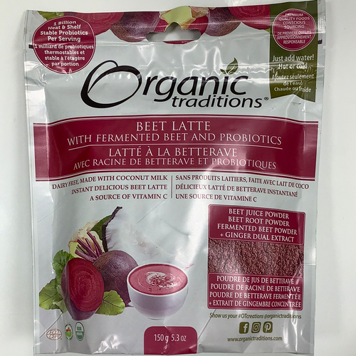 Organic Traditions Beet Latte