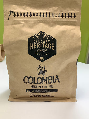 Calgary Heritage Columbia Coffee