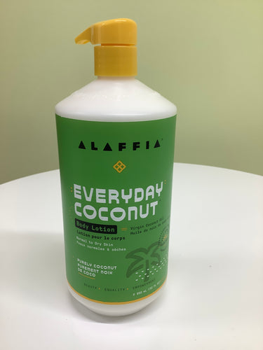 Alaffia Everyday Coconut Body Lotion Purely Coconut