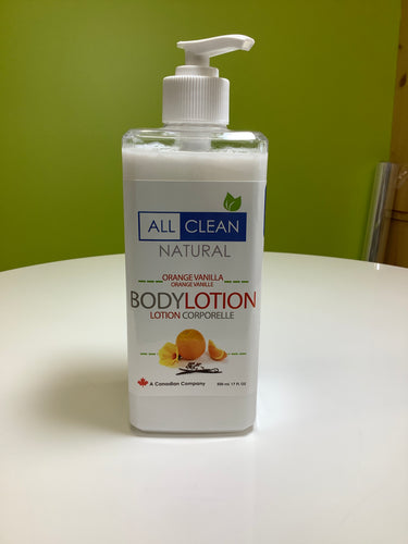 All Clean Natural Body Lotion