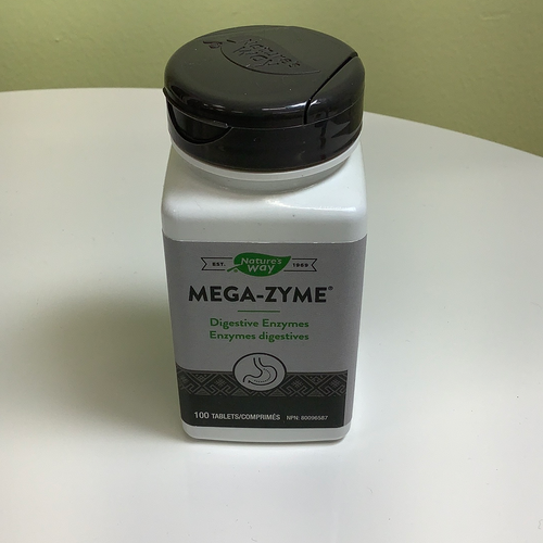 Nature's Way Mega-Zyme Digestive Enzymes