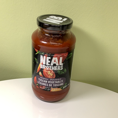 Neal Brothers Tuscan Vegetables Pasta Sauce