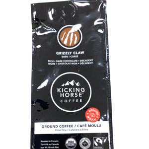 Kicking Horse Ground Grizzly Claw Coffee