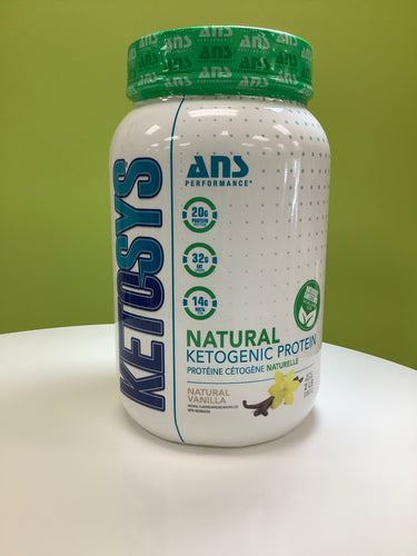 ANS Performance Natural Ketogenic Protein Powder Vanilla