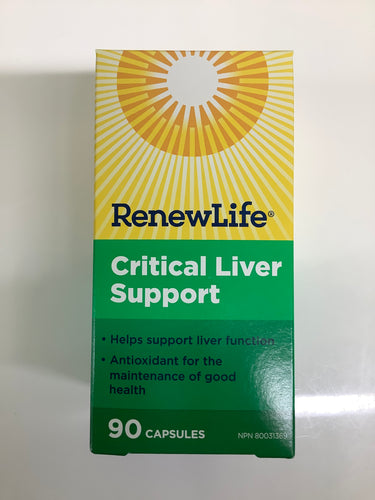 RenewLife Critical Liver Support