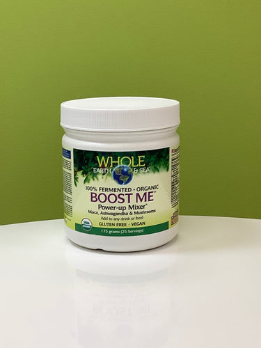 Whole Earth & Sea 100% Fermented Organic Boost Me Power-Up Mixer