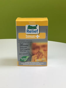 Homeocan Real Relief Sinus+