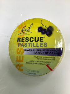 Bach Flower Rescue Pastilles Black Current