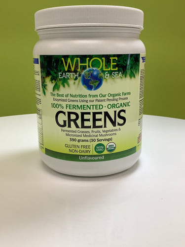 Whole Earth and Sea Fermented Greens Powder Unflavoured