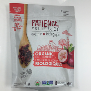Patience Fruit & Co Organic Dried Cranberries
