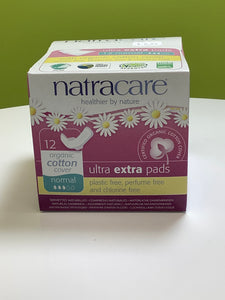 Natracare Normal Ultra Extra Pads