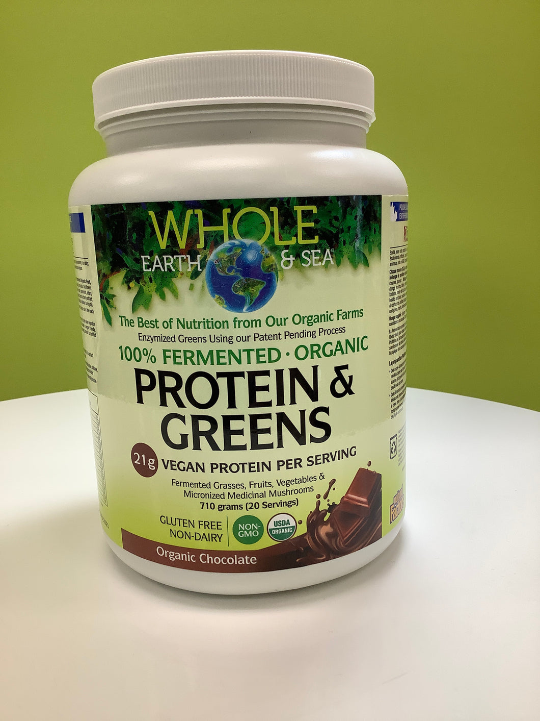 Whole Earth and Sea Fermented Protein & Greens Powder Chocolate 710g