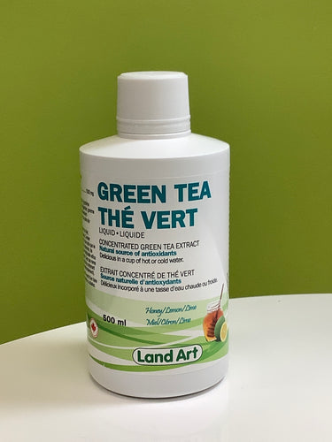 Land Art Green Tea Liquid
