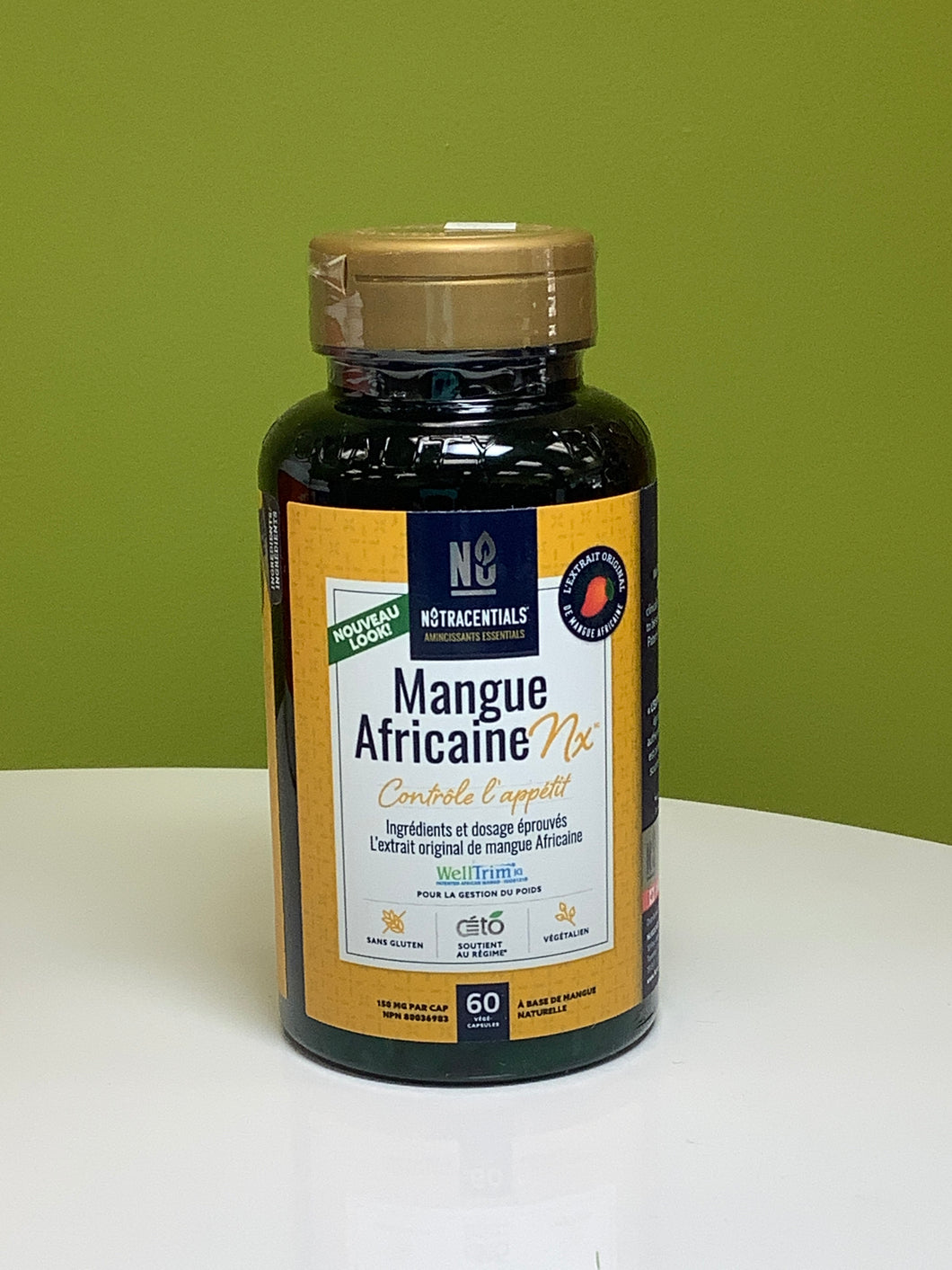 Nutracentials African Mango Nx Appetite Control