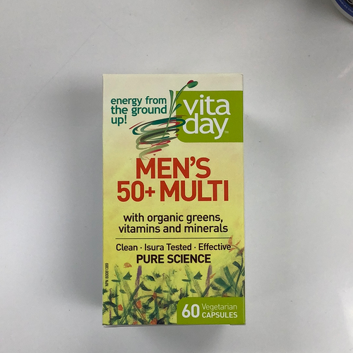 Assured Natural Vita Day Men's 50+ Multi