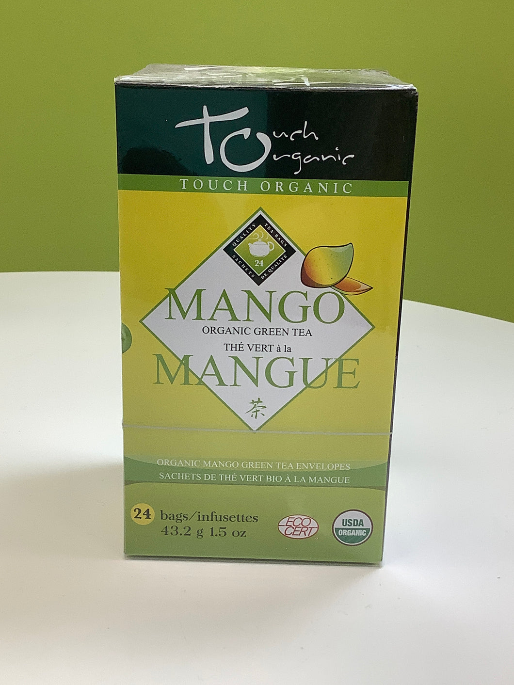 Touch Organic Mango Organic Green Tea