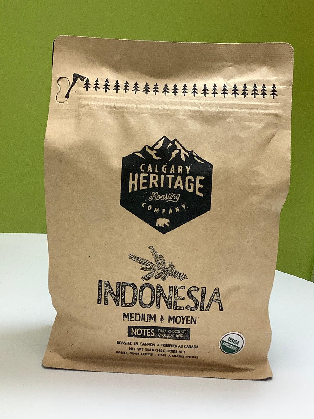 Calgary Heritage Indonesia Coffee