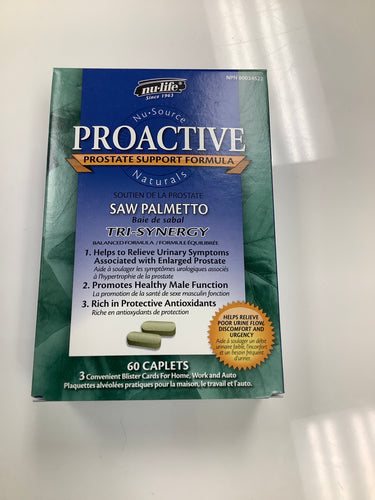 Nu-Life Proactive Saw Palmetto