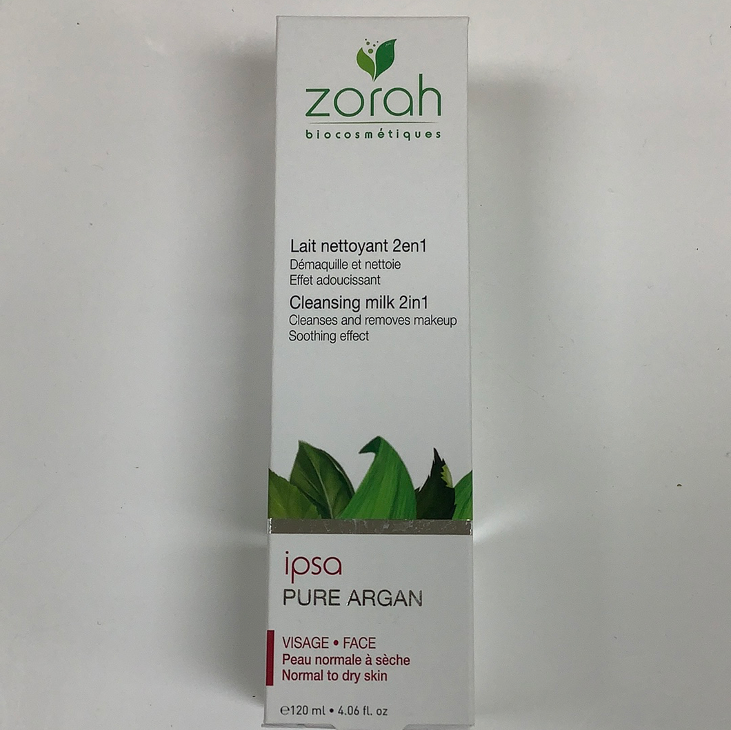 Zorah Biocosmetiques Ipsa Cleansing Milk 2in1