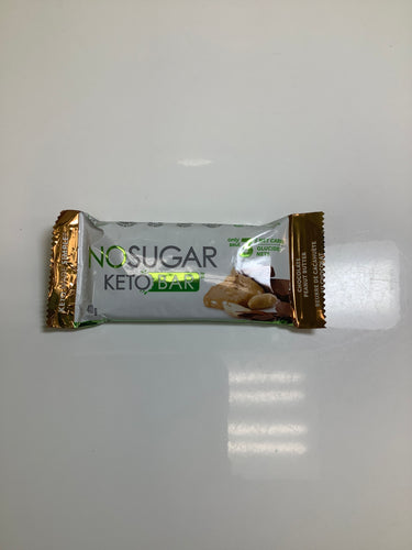 No Sugar KetoBar Chocolate Peanut Butter