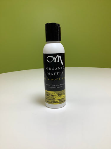 OM Organic Matter Hand and Body Lotion Travel Size