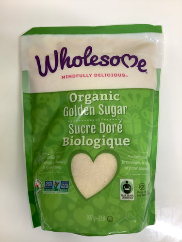 Wholesome Organic Golden Sugar 907g