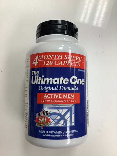 Nu-Life The Ultimate One Active Men 120's