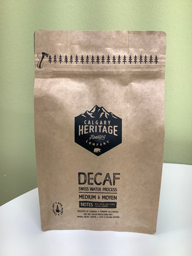 Calgary Heritage Decaf Medium Roasted Coffee